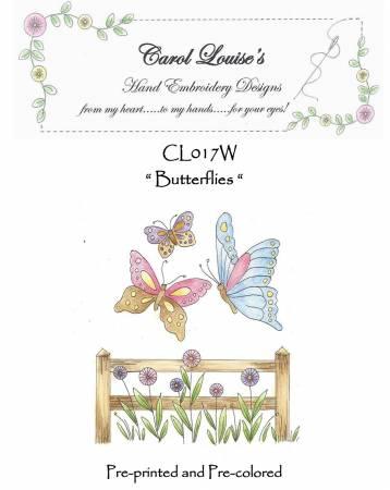 Butterflies - White