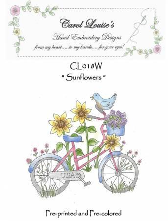Sunflowers - White