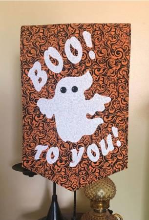 Boo To You Door Hanger