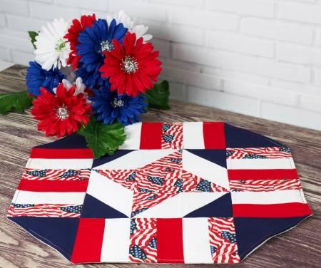 Easy Patriotic Table Topper