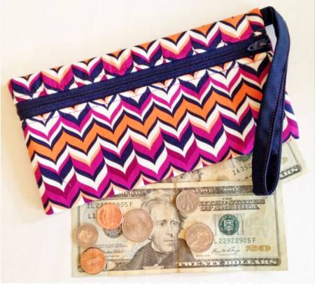 Stash Cash Zipped Bag