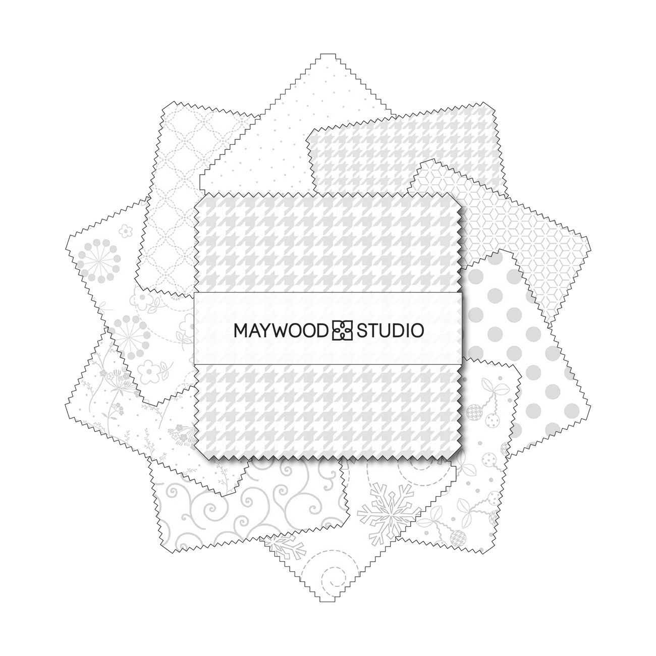 Complete Set 5in Squares 92pcsbundle # CP-KBB-ALL From Maywood Studio By Kimberbell Designs