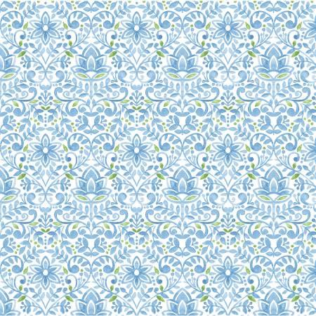 Blue Bluebird Tapestry
