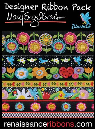 Mary Engelbreit - Blue Bird Designer Ribbon Pack