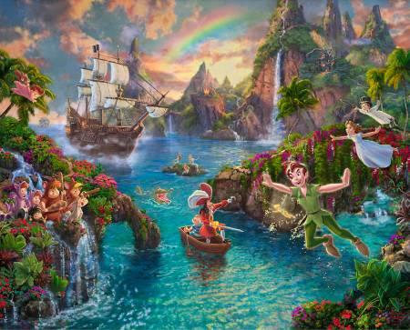 Disney Neverland Digital Panel 36in