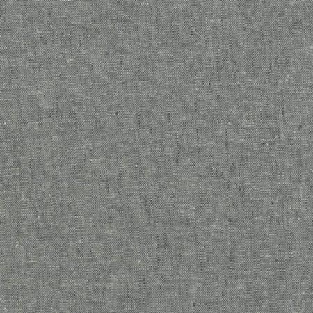 Graphite Essex Linen Yarn Dyed