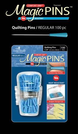 Tailor Mate Magic Pins In Designer Case 100pc