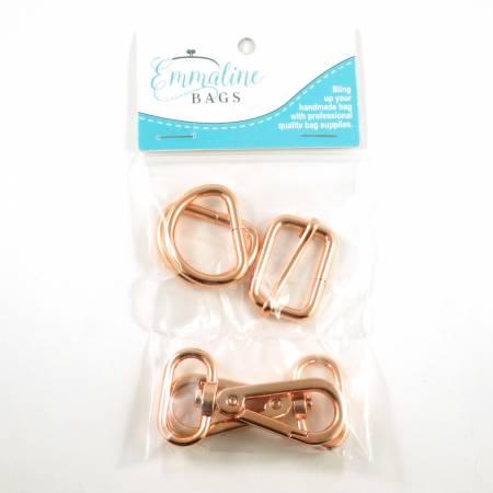 Aspen Crossbody Bag Hardware Kit Copper