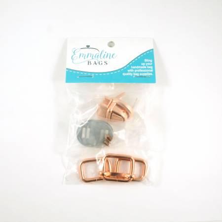 Mountain Saddle Bags Hardware Kit - Copper