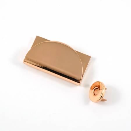 Half Moon Magnetic Clasp Copper