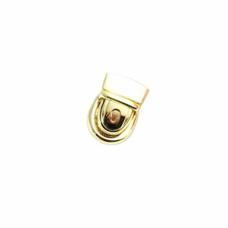 Emmaline Press Lock 1-1/8in Wide Gold