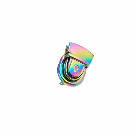 Emmaline Press Lock 1-1/8in Wide Rainbow