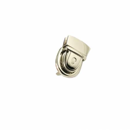 Emmaline Press Lock 1-1/8in Wide Nickel