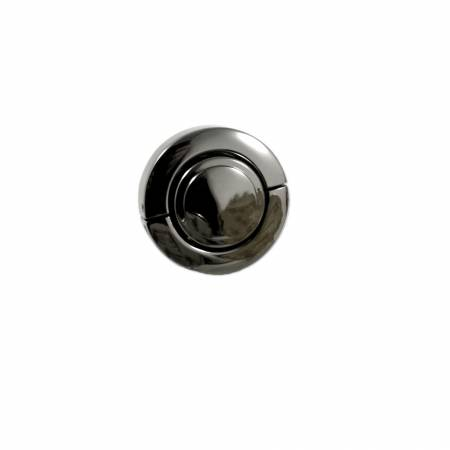 Large Button Lock Gunmetal