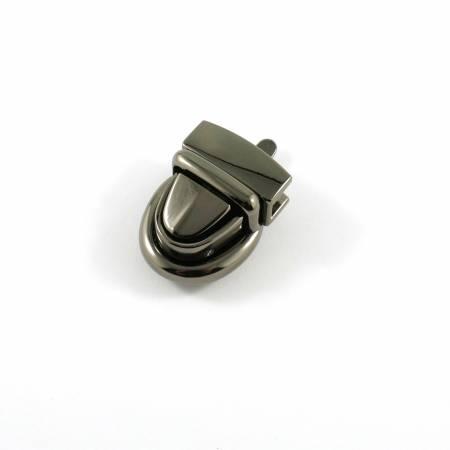 Emmaline Baby Press Lock 3/4in wide Gunmetal