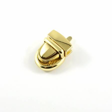 Emmaline Baby Press Lock 3/4in wide Gold