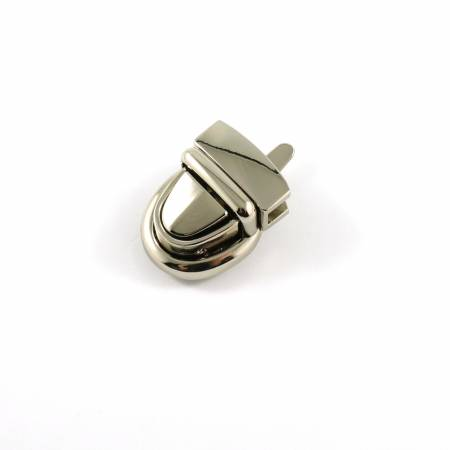 Emmaline Baby Press Lock 3/4in wide Nickel