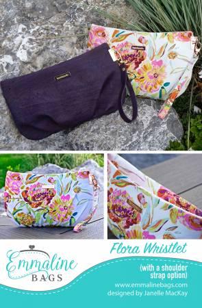 Flora Wristlet Pattern