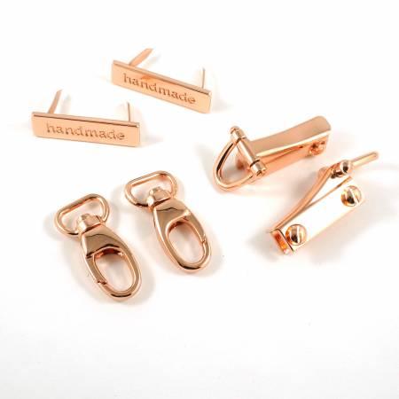 Flora Wristlet Hardware Kit - Copper