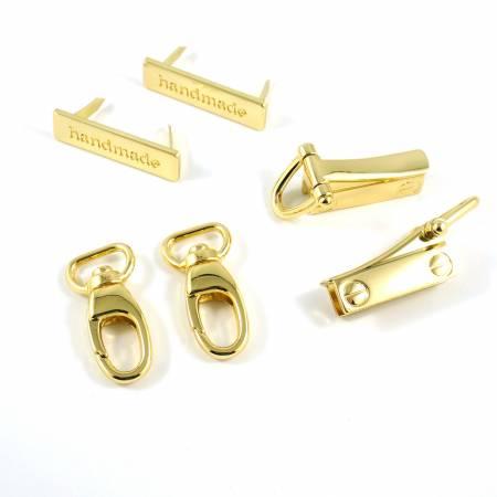 Flora Wristlet Hardware Kit - Gold
