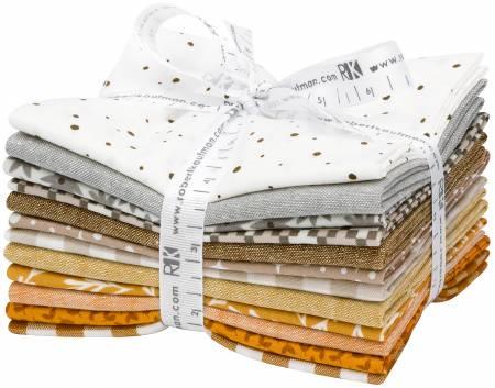 Fat Quarter Paintbox Neutral, 12pcs/bundle
