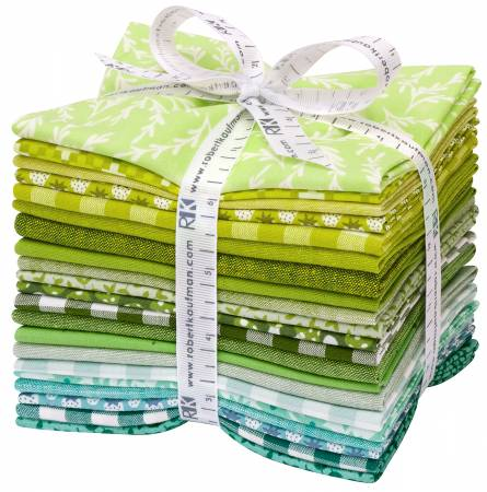 Fat Quarter Paintbox Meadow, 21pcs/bundle