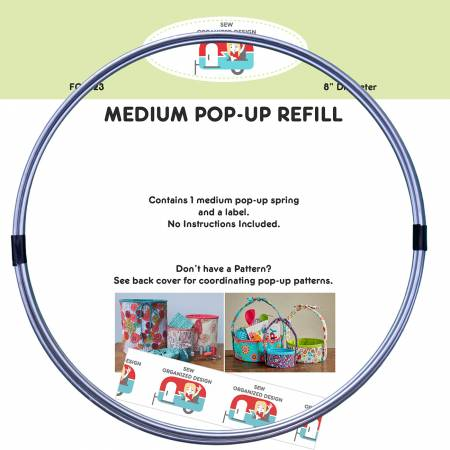 Medium 8in Pop-Up Refill