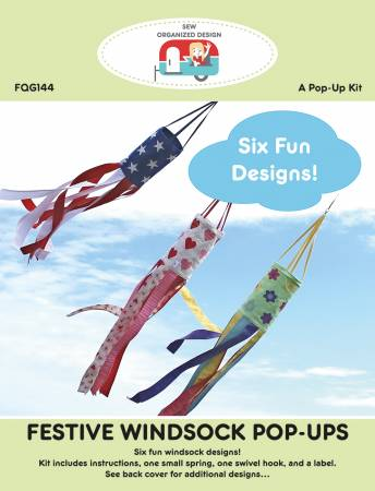 Festive Windsock Pop Ups