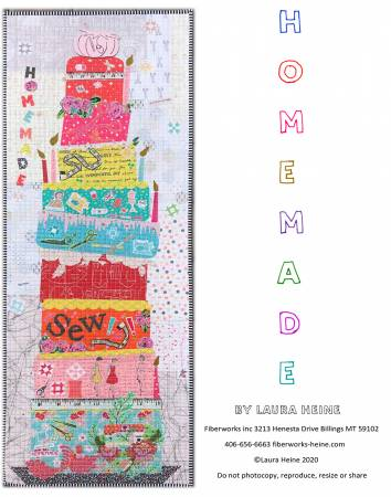 Homemade Collage Pattern by Laura Heine