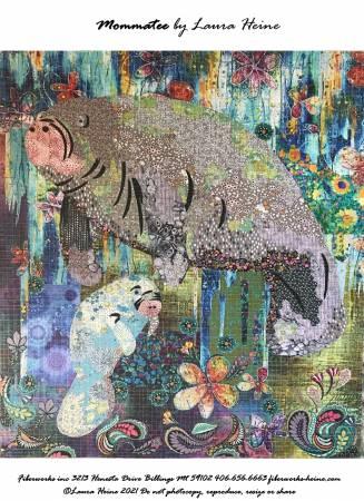 Mommatee Collage Pattern by Laura Heine