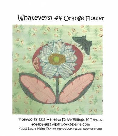 Whatevers 4 Orange Flower