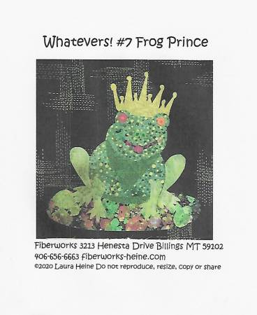 Whatevers 7 Frog Prince