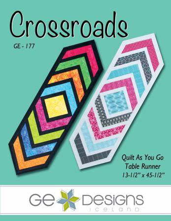 Crossroads Table Runner Quilt as you Go