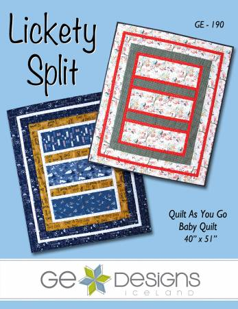 Lickety Split Quilt As You Go
