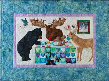 February 12 Months of Happy! Block of the Month Block 2 The Quilting Bee