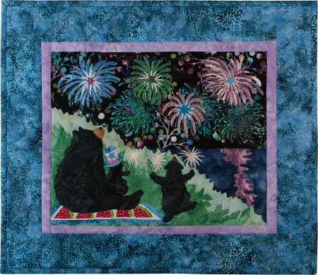 July 12 Months of Happy! Block of the Month Block 7 Li'l Sparklers
