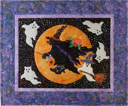 October 12 Months of Happy! Block of the Month Block 10 Beary Be Witching