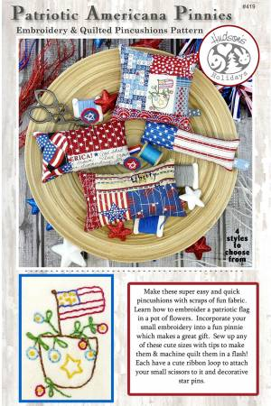 Patriotic Americana Pinnies Pattern