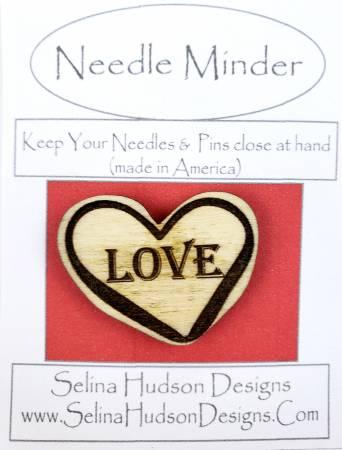 Love In Heart Needle Minder