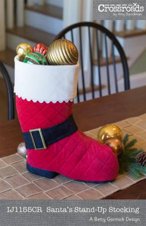 Santa's Stand-Up Stocking