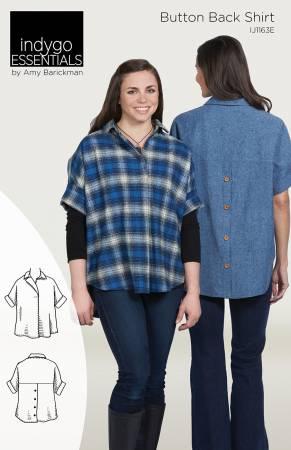 Indygo Essentials: Button Back Shirt