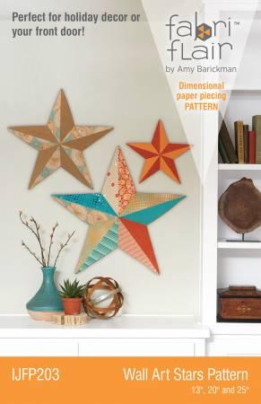 Wall Art Stars Fabriflair Pattern