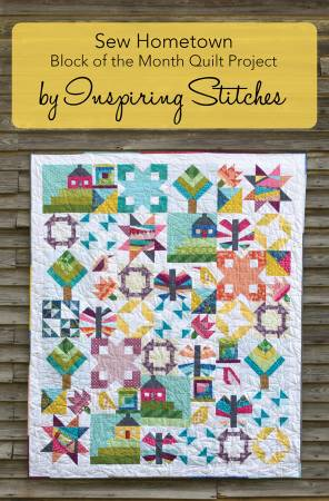 The Sew Hometown Postcard Block of the Month