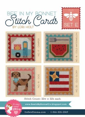 Stitch Cards Set E