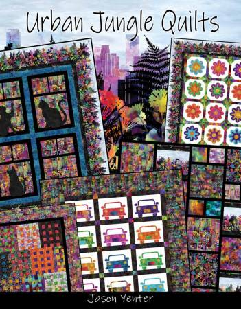 Urban Jungle Quilts Book