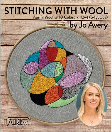 Stitching with Wool by Jo Avery