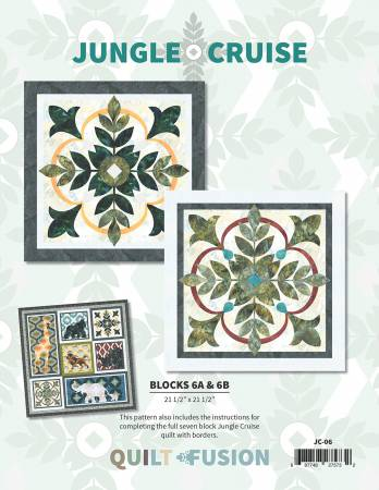 Jungle Cruise Block of the Month  Block 6 - Medallions And Finishing