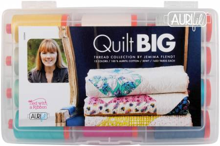 Quilt Big Thread Collection by Jemima Flendt 50wt 12 Large Spools