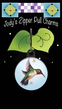 Zipper Charm Hummingbird