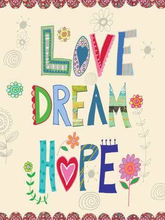 Beth Nadler's Love Dream Hope Journal